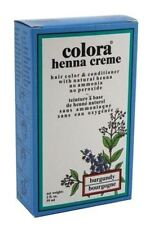 Colora Henna Creme Hair Color Burgundy, 2 oz (Pack of 3)