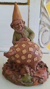 Rare - CD - Edition # 1 - Tom Clark Gnome - ink signed-  pig
