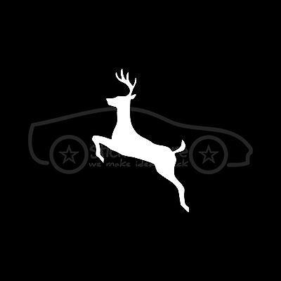 DEER Sticker Cute Animal Gun Bow Arrow Decal Car Truck Hunt Doe Buck Season LEFT
