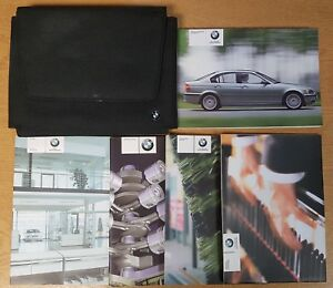 BMW-3-SERIES-E46-SALOON-HANDBOOK-OWNERS-MANUAL-WALLET-2001-2005-PACK-K-269