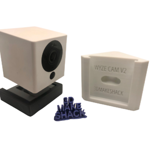 WYZE Cam V2 Right-Angle Corner Mount Holder Wider Viewing Angle for Security