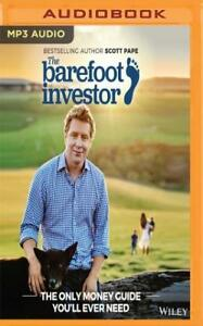 NEW The Barefoot Investor AUDIO BOOK (2017 VERSION) Scott Pape MP3 CD 9781721371914