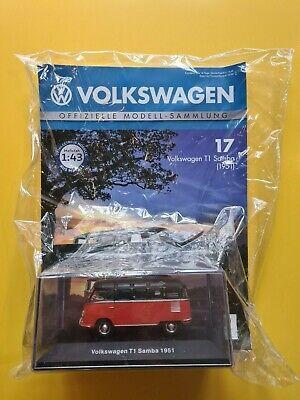Neu 1951 DeAgostini  Volkswagen  Nr.17      T1  SAMBA OVP