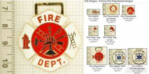 Fire-Fighter-amp-Department-decorative-fobs-various-designs-amp-keychain-options