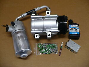 Image Is Loading Reman Ac Compressor Kit Fits