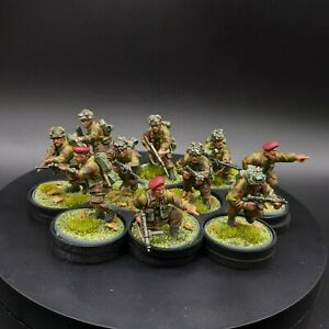 Well-Painted-28mm-Bolt-Action-British-Airborne-Squad-10-Warlord-Games-Ww2