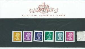 GB - PRESENTATION PACK - PACK NO 101 - MACHIN DEFINITIVES - to £3.30p