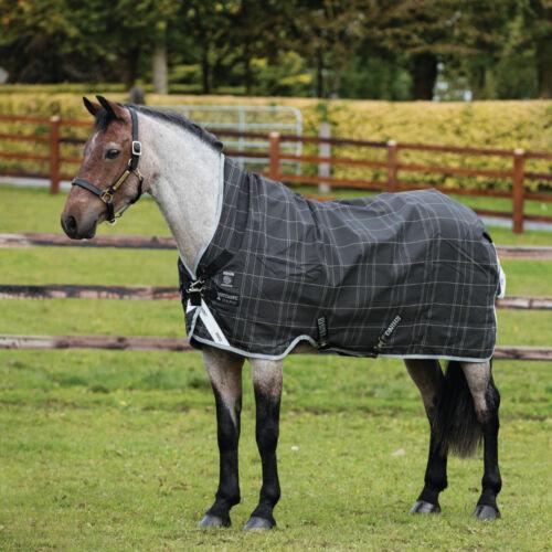 Black//Grey//Wh /& Safari Horseware Rhino Pony Wug Turnout 200g Medium