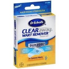 Dr. Scholls Duragel ClearAway Wart Remover Kit 1 ea (Pack of 3)