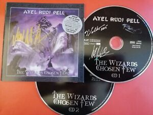 Axel Rudi Pell signed autographed The Wizards Chosen Few CD