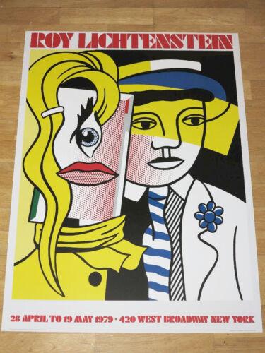 Roy Lichtenstein Affiche Faisant un Pas dehors Exposition Pop Art en Menthe