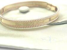 Van Cleef & Arpels 18Kt Perlee Signature Rose Gold Bracelet Size L