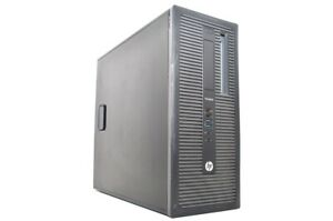 Ordinateur PC HP ProDesk 600 G1 i5-4570@3,20GHz/8GB/500Go/Win10Pro Grd C (NO CD)