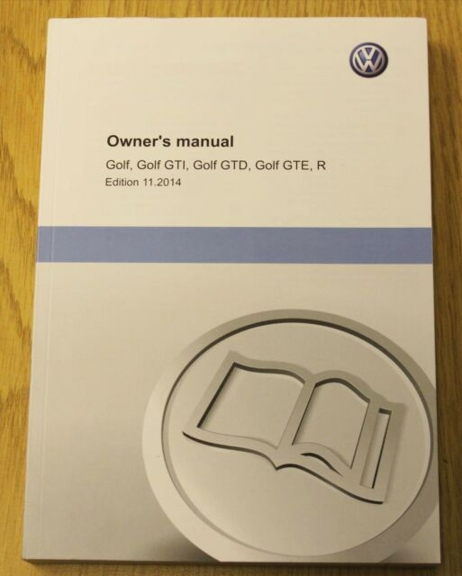 Vw volkswagen golf mk1 service book and manual wallet scirocco.