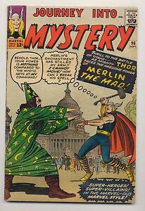 Journey Into Mystery #96 (1963) VG (4.0) Thor ~ Stan Lee ~ Joe Sinnott