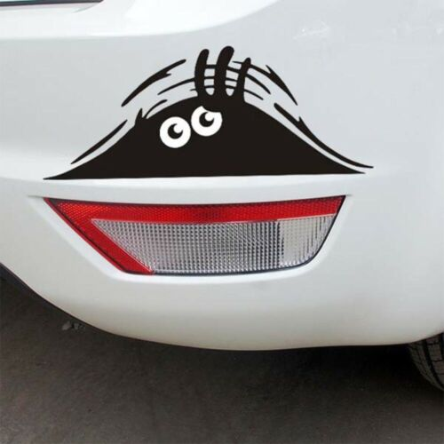 Car Van Vinyl Sticker Peeking Eyes Bumper Rear Window Vinyl Stickers Decals