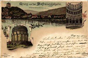 CPA-AK-Gruss-von-der-Befreiungshalle-GERMANY-879517