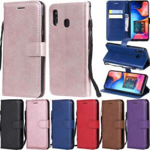 Pour-Samsung-Galaxy-A70-A50-A40-A30-A20-M30-Etui-Portefeuille-Flip-Cuir-Housse-De-Telephone