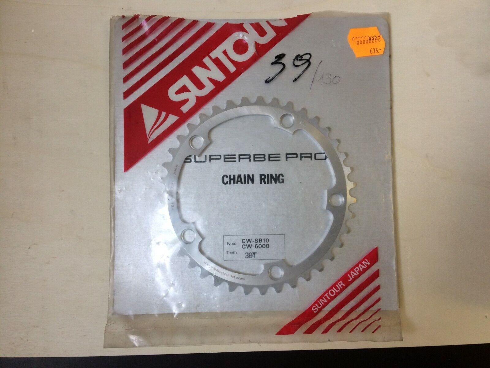 Suntour Suberbe Pro Chain ring Kettenblatt 39T, 130mm,