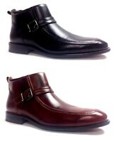 Men Delli Aldo Dressy Casual Ankle Zipper Boots With Leather Lining