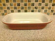 Pyrex Traditional Stoneware Rectangular Dish red & white 22 x 13.5 cm