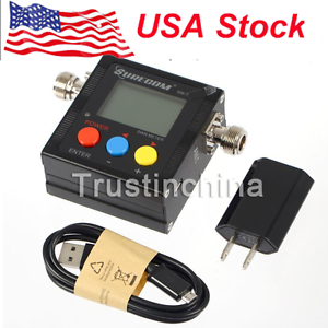 Surecom SW-102 VHF/UHF 125-525Mhz Digital Radioddity Antenna Power SWR Meter US