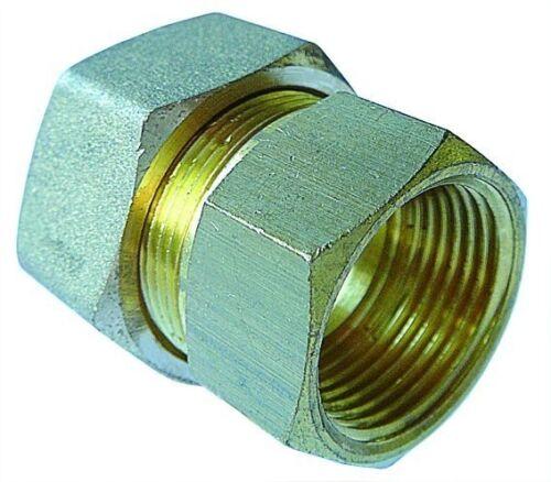 "Wcmf 08//02 AIGNEP Laiton Compression Stud Tube OD 8 mm X BSPP Filetage Femelle 1//8/"""