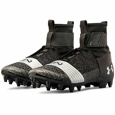 3000175-001 Details about  /Under Armour UA C1N MC Cam Newton Football Cleats Black Silver