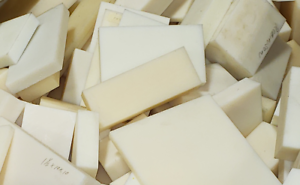 Black Delrin//Acetal Blocks,100 CNC Mill Assorted Plastic piece lot