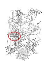 Genuine Murray 1030 10/30 Cinghia di trasmissione (driveswheels) 037X65MA 733 *'