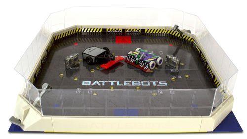Neue hexbug battlebots arena (ir) playset kopf an kopf fernbedienung bekämpfen