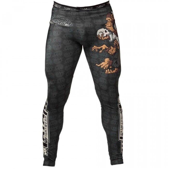 Tatami Fightwear Mens Thinker Monkey Spats Leggings Pants Compression BJJ MMA