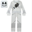 Kids Marshmello Costume Halloween Cosplay Hooded Coat Trousers Mask Outfit Set