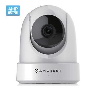 Amcrest 4MP UltraHD Indoor WiFi Security IP Camera Pan/Tilt Dual-Band IP4M-1051W