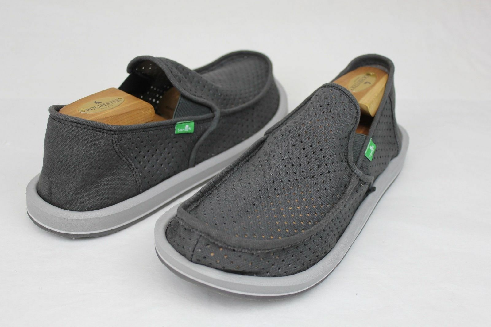 Sanuk Vagabond Perf Sidewalk Surfer Sandal shoes Men's New Retail
