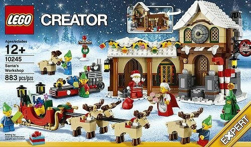 Lego Exclusives, LEGO Exclusive 10245 Santa's…