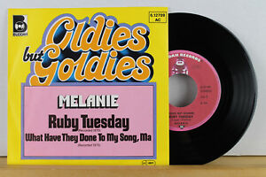 """7"""" - MELANIE - Ruby Tuesday - What Have They Done To My Song, Ma - Bielefeld, Deutschland - 7"""" - MELANIE - Ruby Tuesday - What Have They Done To My Song, Ma - Bielefeld, Deutschland"""