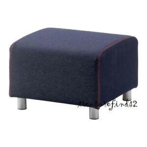Image Is Loading Ikea Klippan Cover KLIPPAN Footstool Ottoman SLIPCOVER Vansta