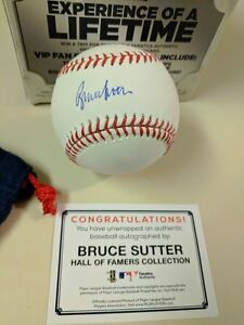 29a33da30bb Image is loading SIGNED-BRUCE-SUTTER-AUTOGRAPHED-MLB-BASEBALL-CHICAGO-CUBS-