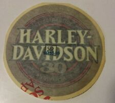 HARLEY DAVIDSON ELECTRA GLIDE 30th ANNIVERSARY FUEL TANK DECAL
