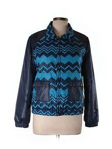 788b769bdd Missoni for Target Women s Via Blue Black Puffer Jacket Coat Size L ...
