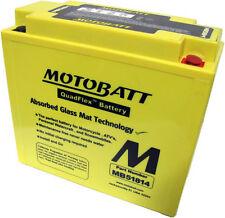 BMW K GT 1200 CC 2002, 2003, 2004 Motobatt batería de motocicleta MB15814