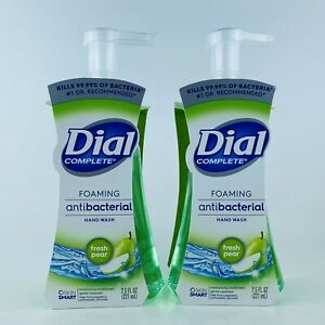 2-Pack-Dial-Complete-Fresh-Pear-Foaming-Liquid-Hand-Soap-7-5-oz-Kills-Bacteria