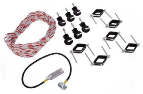 Elektroset für Weidetor Torsystem Elektrofizierungsset Elektro Set 441224