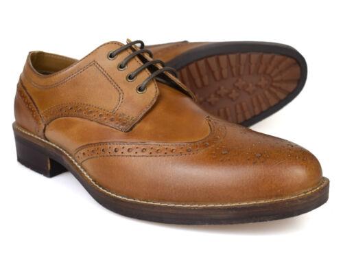 hommes cuir en formelles rouge Swinley pour mariage Free Ruban p Brogue Tan P Chaussures de wTfxWqP4