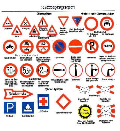 1 35 German Traffic Signs 2 Wk 642 Ebay