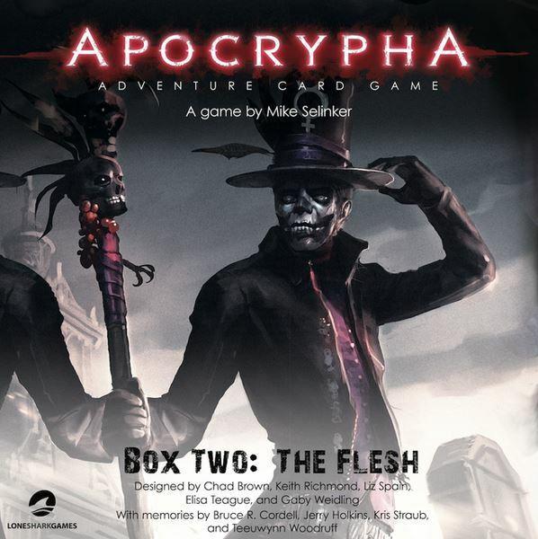 Apocrypha die Fleisch Expansion Pack für Kartenspiel