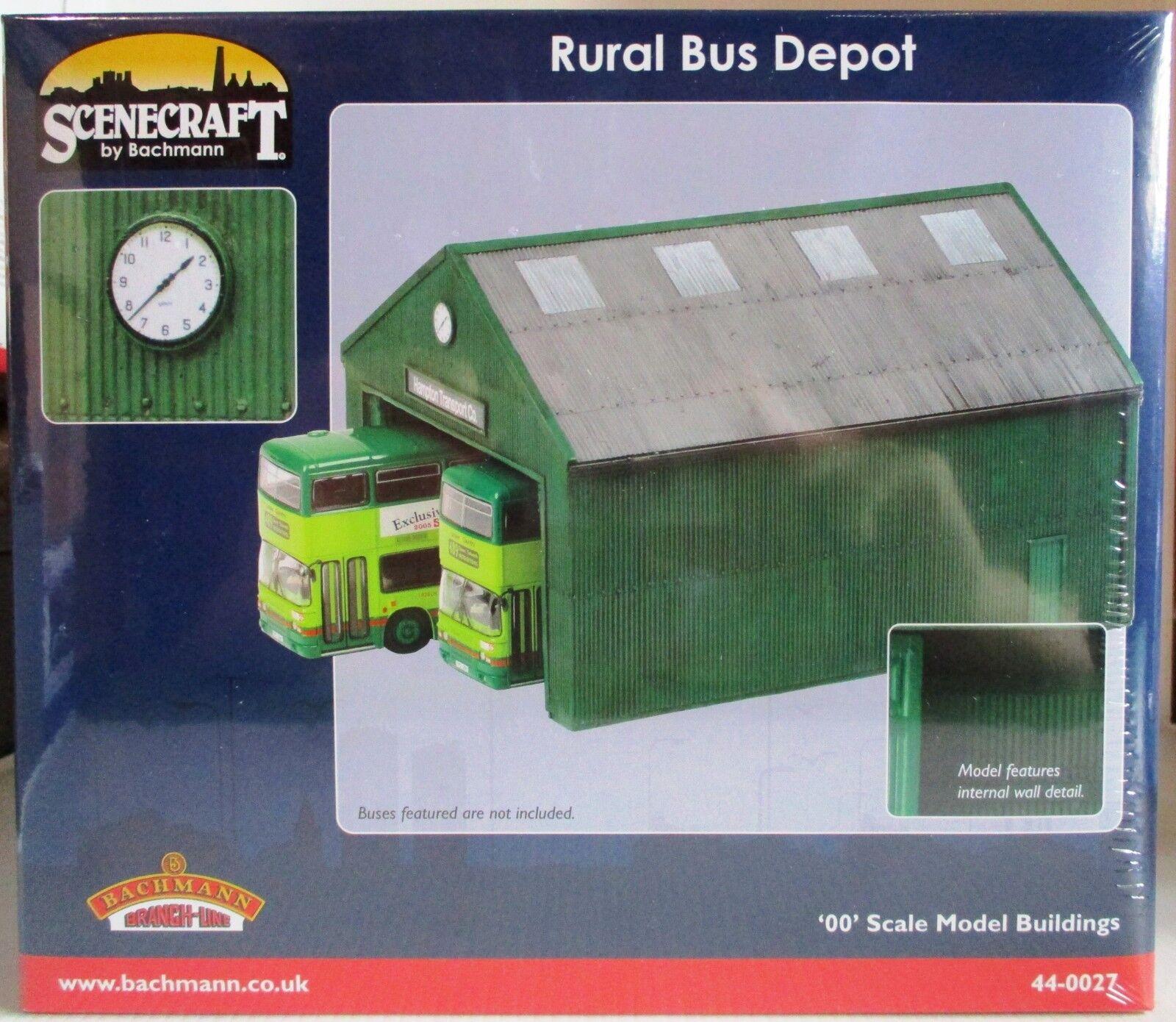 Bachmann 44-0027 Rurale Bus Depot Scala Modello Costruzione - Cingolato 48