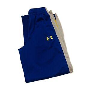Under-Armour-Blue-Loose-Fit-Athletic-Pants-Boys-Medium-M
