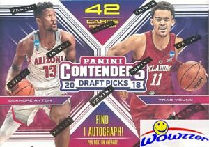 2018-19-Panini-Contenders-Draft-Picks-Basketball-Sealed-Blaster-Box-AUTOGRAPH